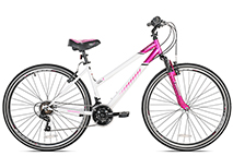 700c Multispeed Ladies Hybrid Bike