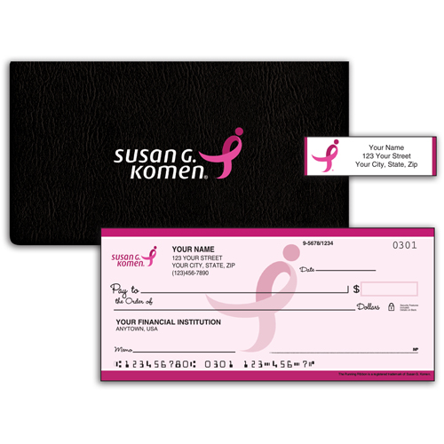 Pink For the Cure Checks