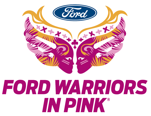 Ford Warriors in Pink Logo